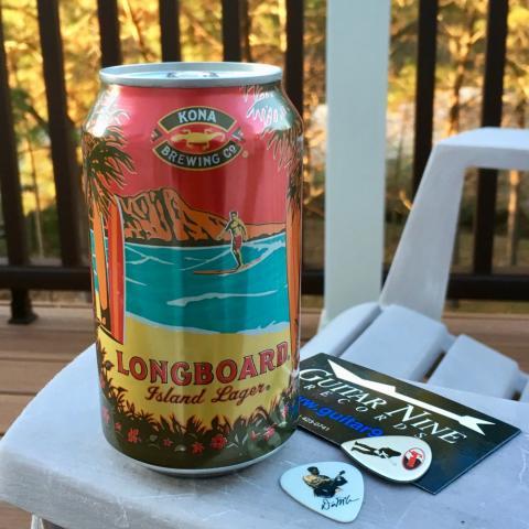 Kona Brewing Longboard Island Lager (12 oz)