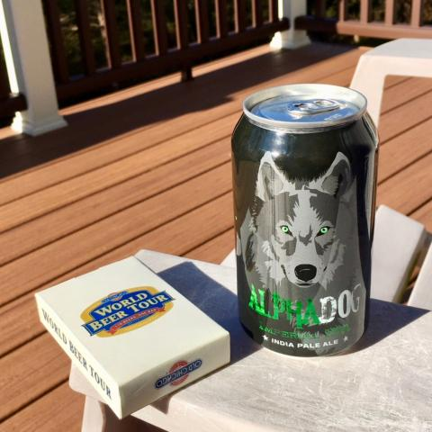 Laughing Dog Brewing AlphaDog Imperial IPA