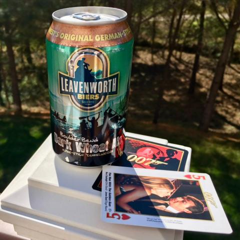 Leavenworth Biers Boulder Bend Dark Wheat Ale