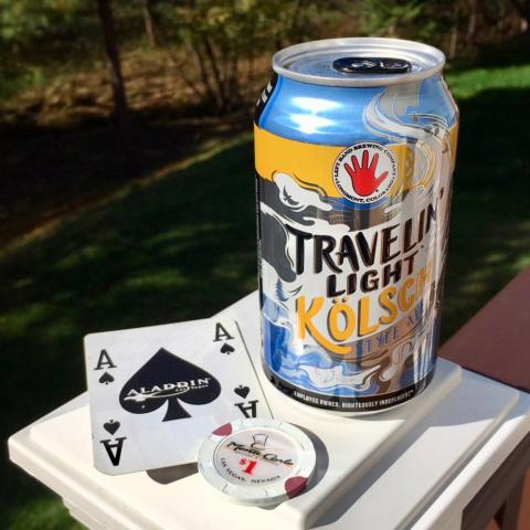 Left Hand Brewing Travelin' Light Kolsch Style Ale