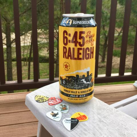 Lonerider 6:45 To Raleigh Pale Ale