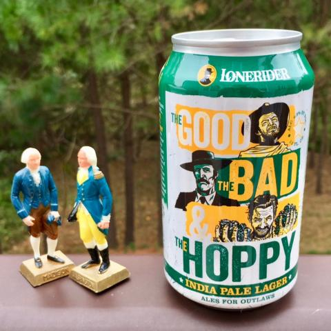 Lonerider The Good, The Bad & The Hoppy India Pale Lager