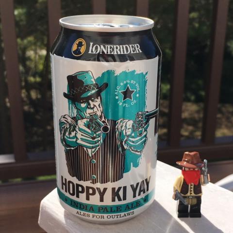 Lonerider Hoppy Ki Yay India Pale Ale