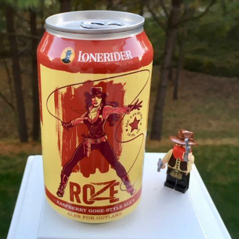 Lonerider Roze Raspberry Gose-Style Ale
