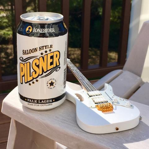 Lonerider Saloon Style Pilsner Pale Lager