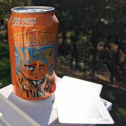 Lost Coast Brewery Tangerine Wheat Beer