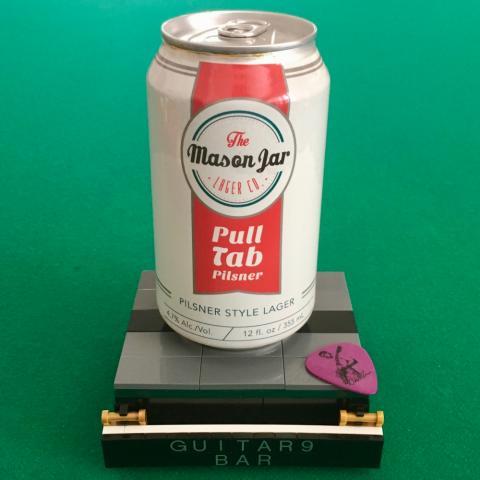 Mason Jar Pull Tab Pilsner Style Lager