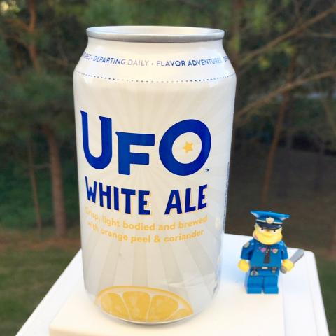 Mass Bay Brewing UFO Detour White Ale