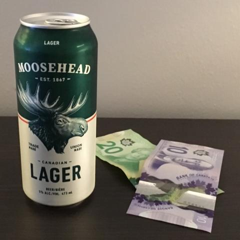 Moosehead Breweries Moosehead Canadien Lager