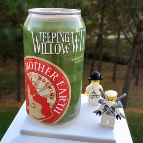Mother Earth Brewing Weeping Willow Wit Belgian-Style Wit Beer