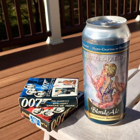 Mystery Brewing Gentlemen's Preference Blond Ale
