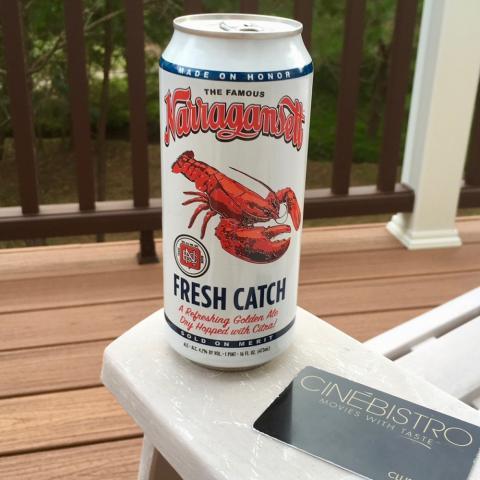 Narragansett Fresh Catch Golden Ale