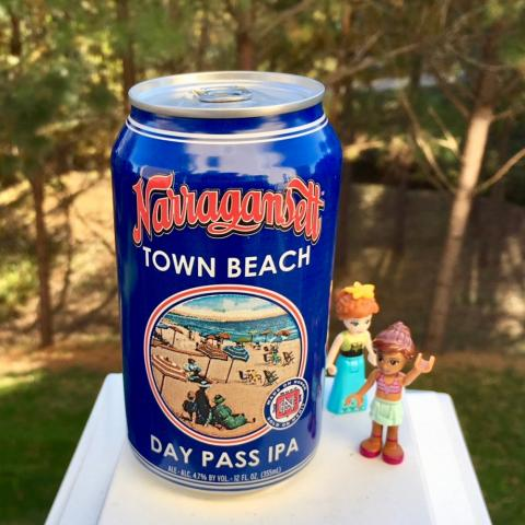 Narragansett Town Beach Day Pass IPA
