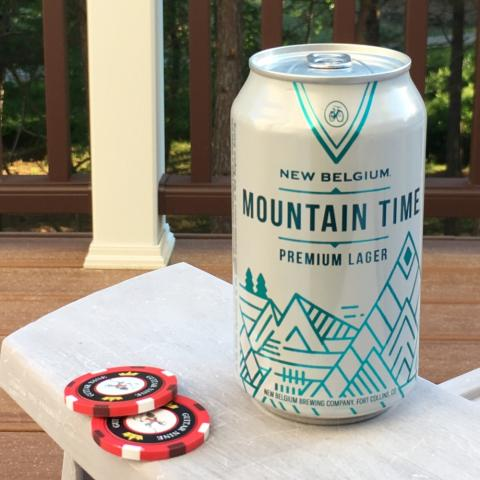 New Belgium Mountain Time Lager (12 oz)