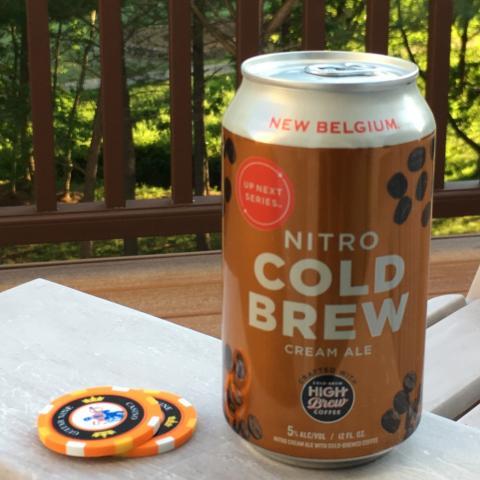 New Belgium Nitro Cold Brew Cream Ale (12 oz)