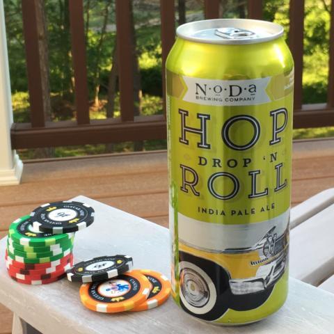 NoDa Brewing Hop Drop 'N Roll India Pale Ale (16 oz)