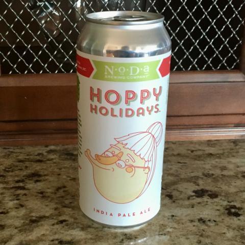 NoDa Brewing Hoppy Holidays India Pale Ale (16 oz)