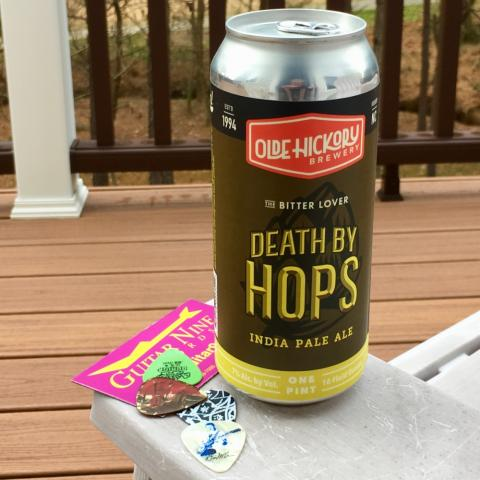 Olde Hickory Brewing Death By Hops India Pale Ale