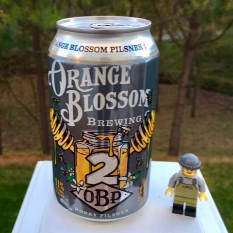 Orange Blossom Brewing Plisner 2 - OBP Squared Honey Plisner
