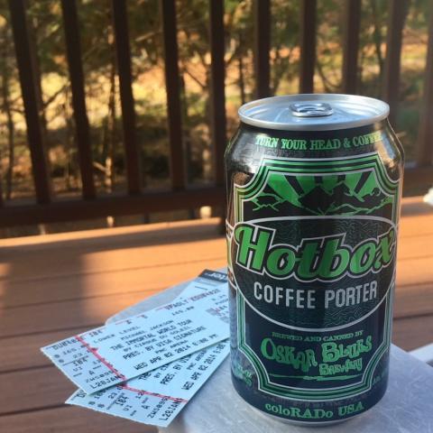 Oskar Blues Hotbox Coffee Porter