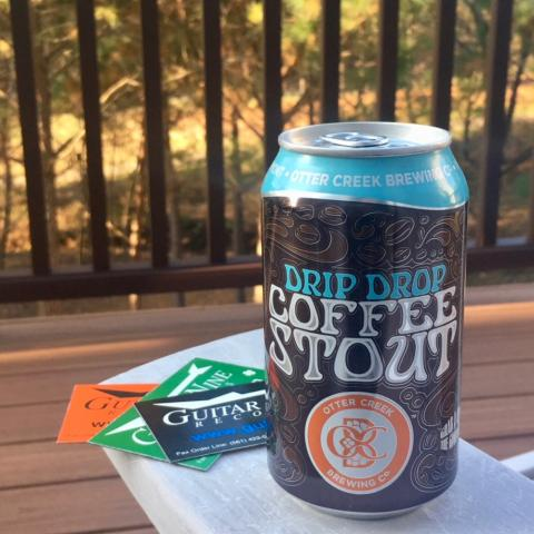 Otter Creek Brewing Drip Drop Coffee Stout