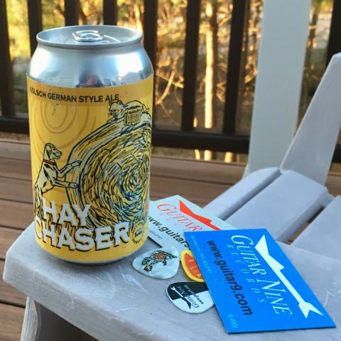 Pitt Street Brewing Hay Chaser Kolsch German Style Ale