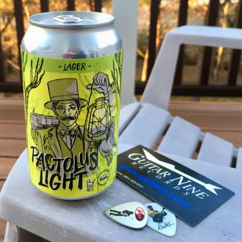 Pitt Street Brewing Pactolus Light Lager