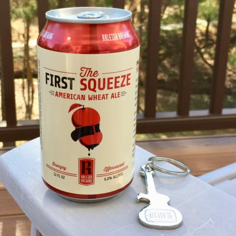 Raleigh Brewing The First Squeeze American Wheat Ale Alt A