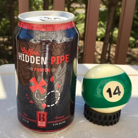Raleigh Brewing Hidden Pipe Coffee Porter