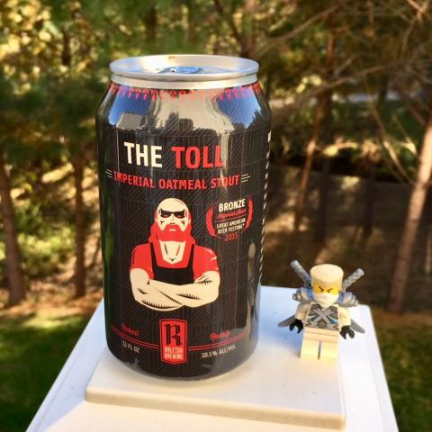Raleigh Brewing The Toll Imperial Oatmeal Stout