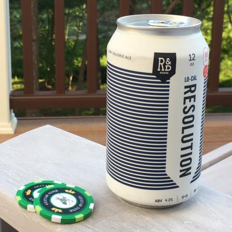 R&D Brewing Resolution Ale (12 oz)