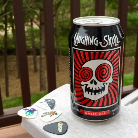 Red Brick Brewing Laughing Skull Amber Ale