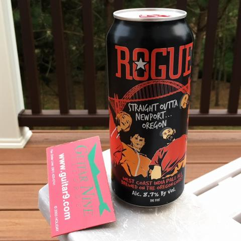 Rogue Ales Straight Outta Newport Oregon West Coast India Pale Ale