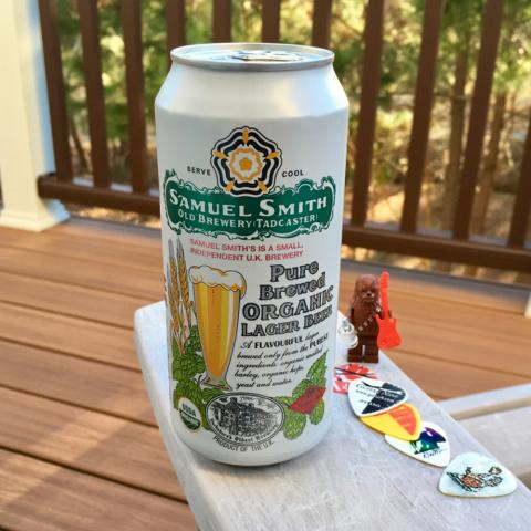 Samuel Smith's Pure Brewed Organic Lager Beer