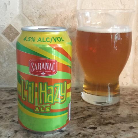 Saranac L'il Hazy Ale (12 oz)