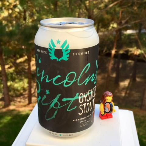 Service Brewing Lincoln's Gift Oyster Stout