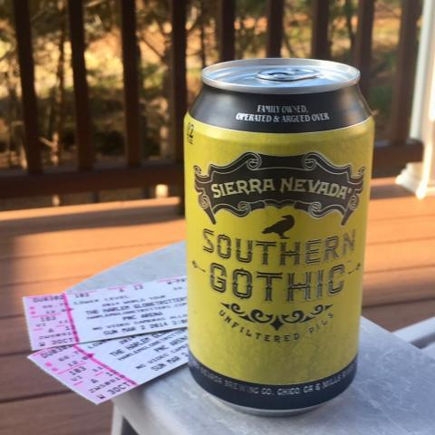 Sierra Nevada Southern Gothic Unfiltered Pils