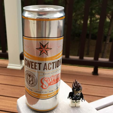 Sixpoint Brewery Sweet Action Blonde Ale