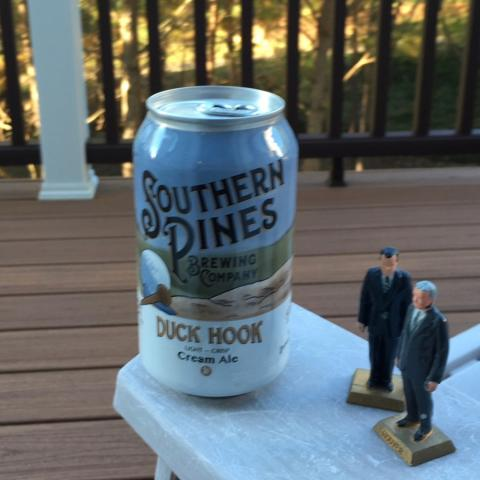 Southern Pines Brewing Duck Hook Cream Ale