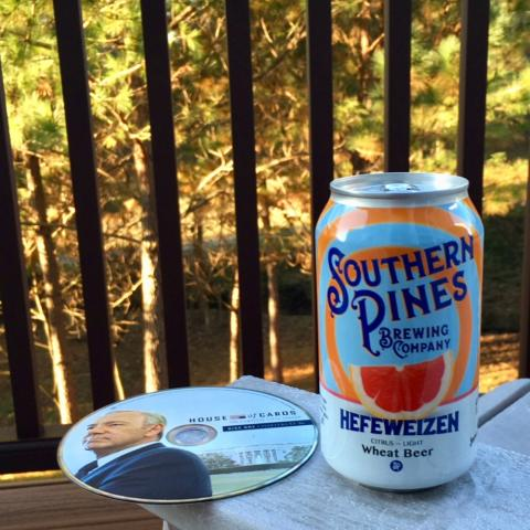 Southern Pines Brewing Hefeweizen Wheat Beer