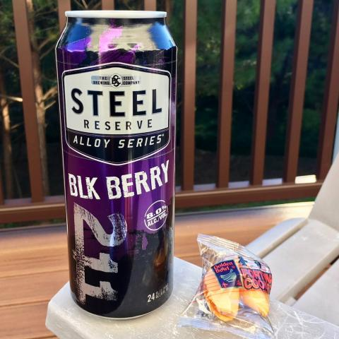 Steel Brewing Steel Resrve 211 Alloy Series Blk Berry Beer