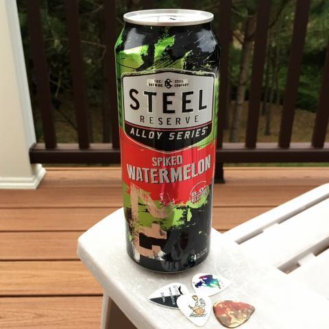Steel Brewing Steel Resrve 211 Alloy Series Spiked Watermelon Beer