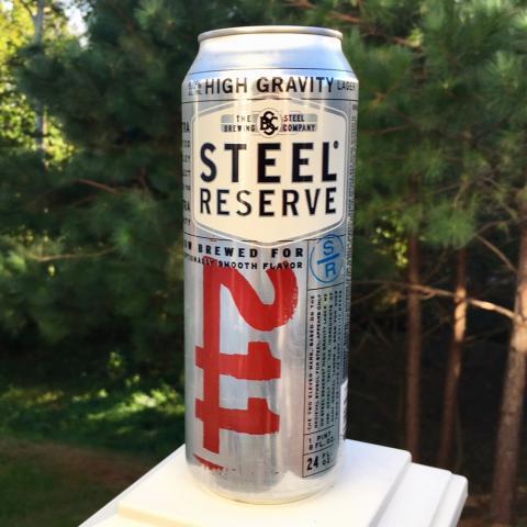 Steel Brewing Steel Reserve 211 Beer