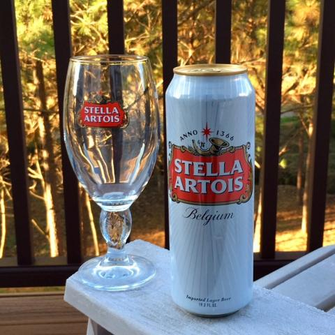 Stella Artois Lager Beer
