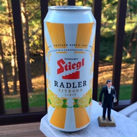 Stiegl Radler Zitrone Lemon Malt Beverage