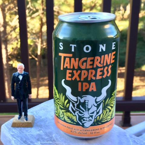 Stone Brewing Tangerine Express iPA
