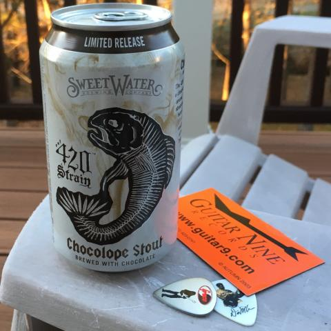 Sweetwater Brewing 420 Strain Chocolope Stout 12oz