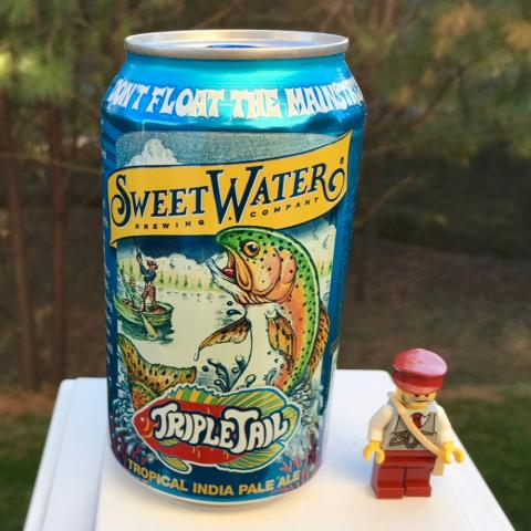 Sweetwater Brewing TripleTail Tropical India Pale Ale