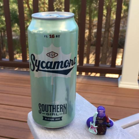 Sycamore Brewing Southern Girl Blonde Ale