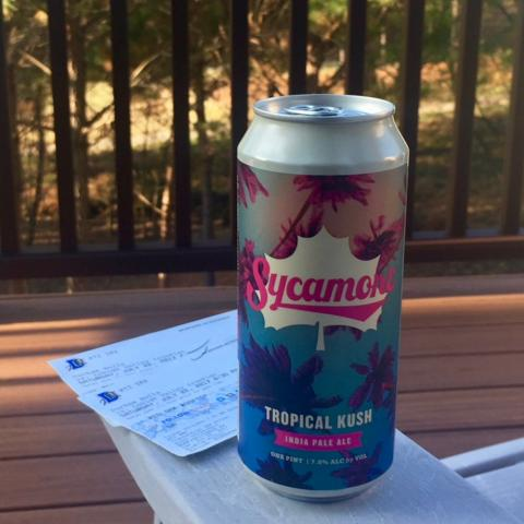 Sycamore Brewing Tropical Kush India Pale Ale
